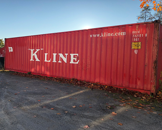 Storage - Cargo - Steel container - Steel container excellent condition - Underground bunker - Prepper - Prepper heaven - Secure dry storage