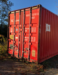 Storage - Cargo - Steel container - Steel container excellent condition - Underground bunker - Prepper - Prepper heaven - Secure dry storage