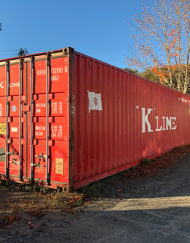 Storage - Cargo - Steel container - Steel container excellent condition - Underground bunker - Prepper - Prepper heaven - Secure dry storage - Zander P Lee