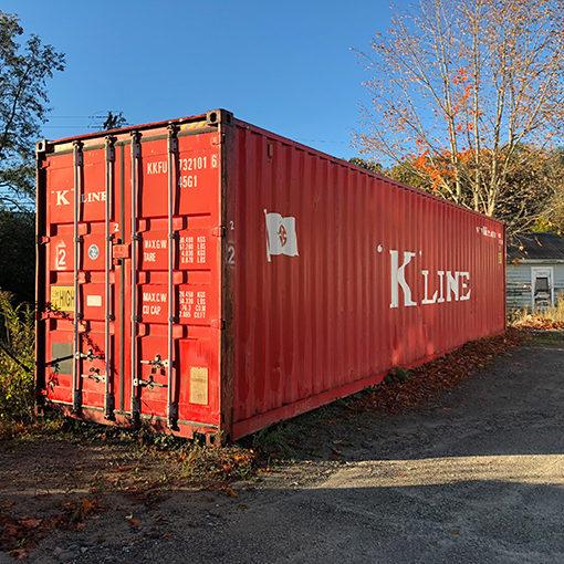 Storage - Cargo - Steel container - Steel container excellent condition - Underground bunker - Prepper - Prepper heaven - Secure dry storage - Zander P Lee