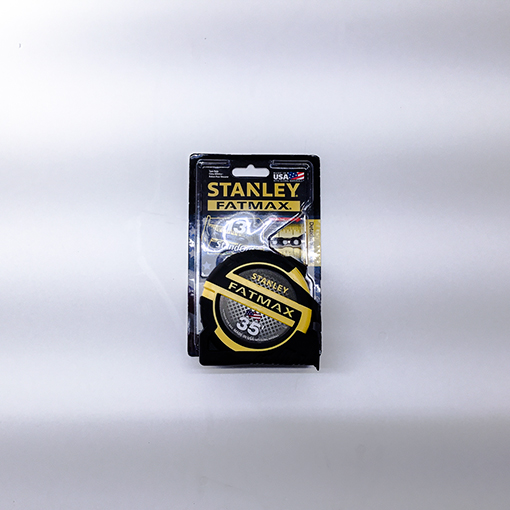 Tape Measure - 35' – Stanley - Tape measure feet and inches - American - Far reaching tape measure - Accurate tape measure - Carpenters tape measure